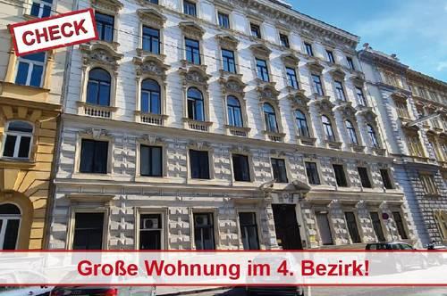 Große Wohnung im gepflegten Altbau nähe Hauptbahnhof!
