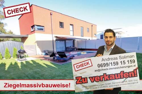 ERSTBEZUG! Exklusive Doppelhaushälfte mit Pool in Seiersberg!