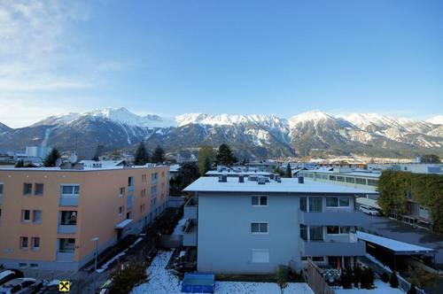 Top renovierte 1-Zimmer-Wohnung inmitten von Pradl mit schönster Aussicht