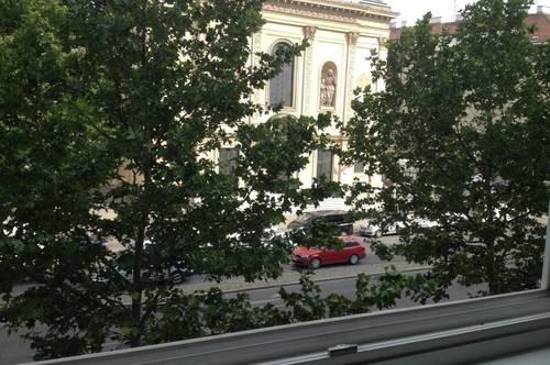 Helle 2-Zimmer-Wohnung mit Balkon, WG tauglich, Miete inkl. Heizung und Möblierung