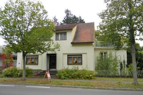 Wohnhaus möbliert - kleiner Garten - in Eberau