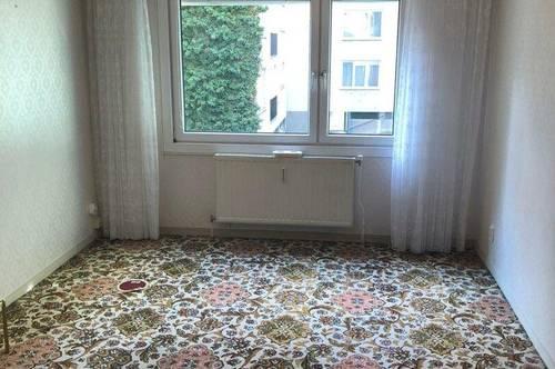 Teilmöblierte 2-Zimmer-Wohnung mit Loggia nähe Wien Mitte inkl. WW und Heizung