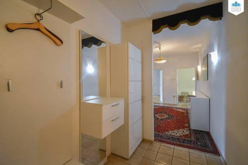 3-Zimmer-Wohnung / Zentral begehbar / Loggia / Teil möbliert inkl. Warmwasser, Heizung und Bk / Troststraße