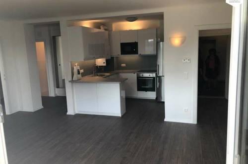 Top Sanierte 2-Zimmer-Wohnung mit Balkon und direktem Blick auf die Donau