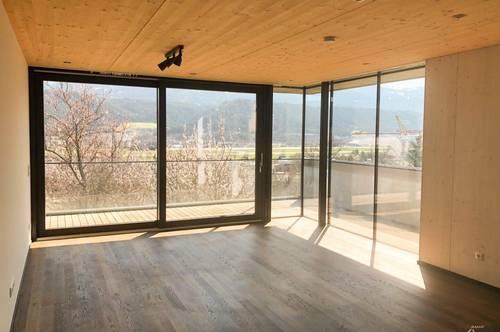 Luxuriöse 3-Zimmer-Wohnung mit Panorama-Blick im Passivhaus im Westen von Innsbruck zu vermieten