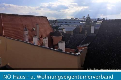 Studenten-Hit mit Blick über den Dächern von Krems