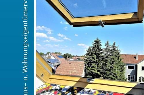 Dachgeschoßwohnung mit dem gewissen Extra (Gemeinschaftsgarten!)