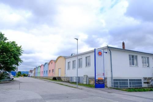 Golling, Fabrikstraße 1, Neudahalle, offene Lagerhalle