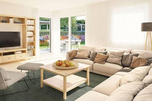 Lamprechtshausen! Neue Doppelhaushälfte im charmanten Landhausstil!