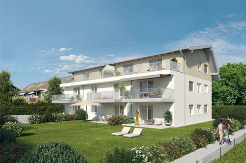 NEU! 3-Zi. Dachterrassenwohnung inkl. 2 TG-Plätze in Seekirchen!