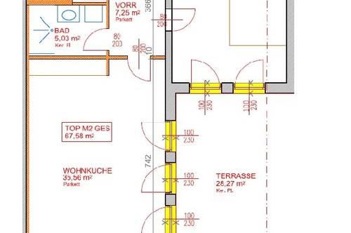14174 Neu errichtete Terrassenwohnung!