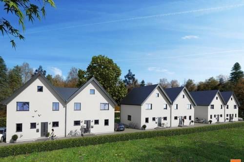 Doppelvilla in absoluter Grünruhelage Nähe Münchendorf