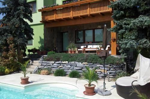 MIETWOHNUNG mit Garten und tollen Pool in TRUMAU