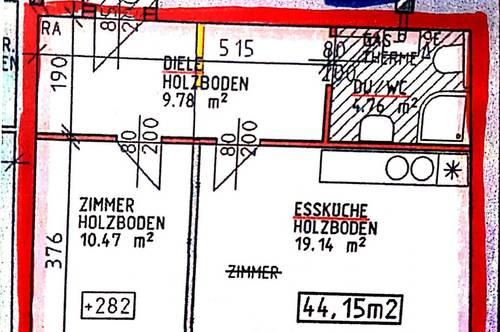 Wohnung am Hauptplatz - 6,3 % Rendite