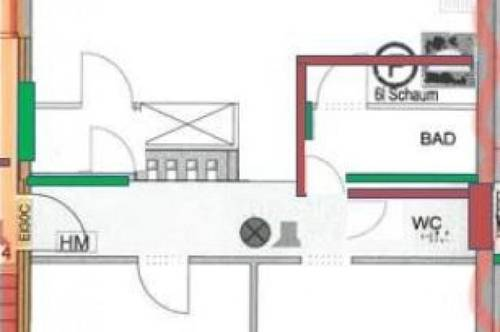 3 Zimmer Wohnung mit Terrasse