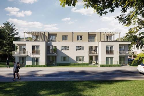 Elegant, smart - Große Dachterrassenwohnung am Land +++KEINE MAKLERKOSTEN+++