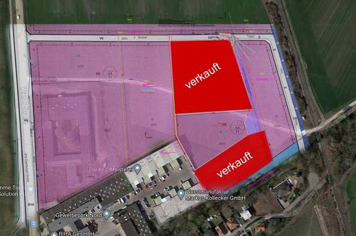 ** Letzte Chance ! Betriebsbaugrund in perfekter Lage - Gewerbepark Nord Ebreichsdorf **