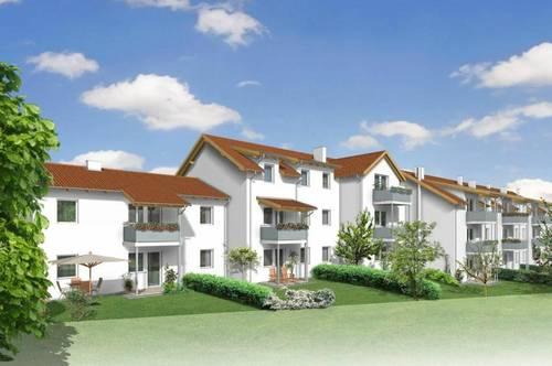 Geförderte Maisonettewohnung mit Eigengarten in Miete mit Kaufoption