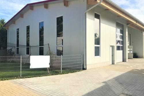 Neuwertige moderne Lagerhalle in Baden!