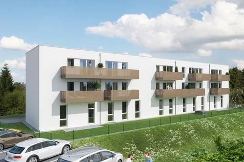 Neubau: geförderte 2-Raum-Mietwohnung in Haag am Hausruck