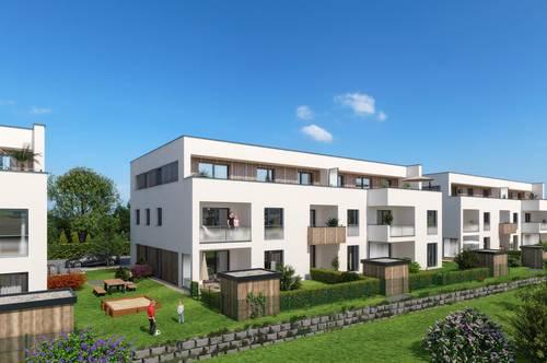 Neubau: frei finanzierte 4-Raum-Eigentumswohnung in Wels