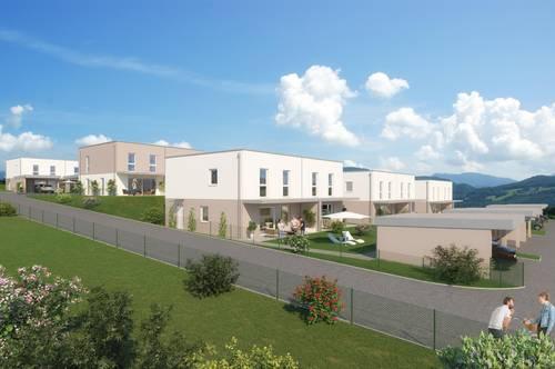Neubau: Mietkauf-Doppelhaushälfte in Grein