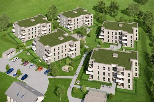 Neubau: geförderte 4-Raum-Eigentumswohnung in Wilhering