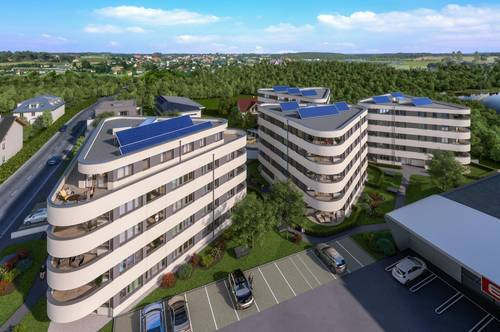 Neubau: geförderte 3-Raum Eigentumswohnung in Gmunden