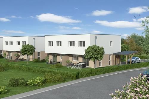Neubau: Mietkauf-Doppelhaushälfte in Pucking