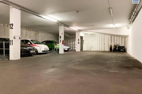 Zentraler Tiefgaragenplatz (Stapelparkplatz) nähe Musiktheater/Bahnhof zu vermieten - provisionsfrei