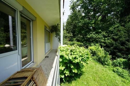 Parsch: Sonnige Wohnung mit Loggia und Gartennutzung