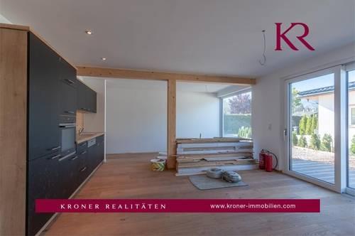 Neu erbaute 3-Zimmer-Gartenwohnung in Kössen zu vermieten