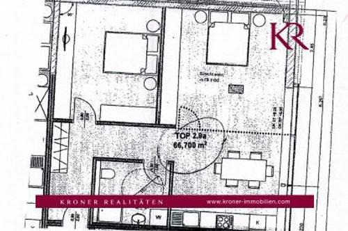 2 Zimmer Wohnung im Herzen der Stadt zu vermieten