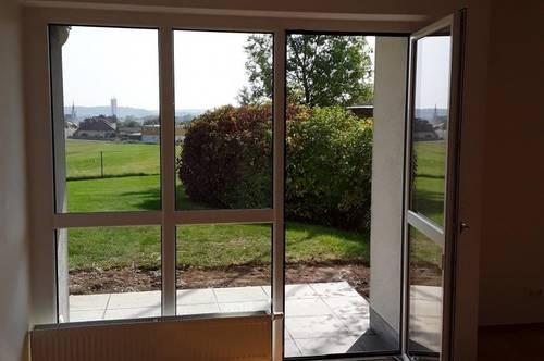 ….südseitig ausgerichtete Wohnung mit Terrasse