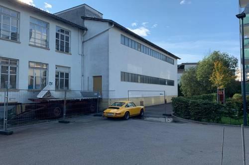 LEISTBARE LAGER-PRODUKTIONHALLE NÄHE BAHNHOF ZU MIETEN