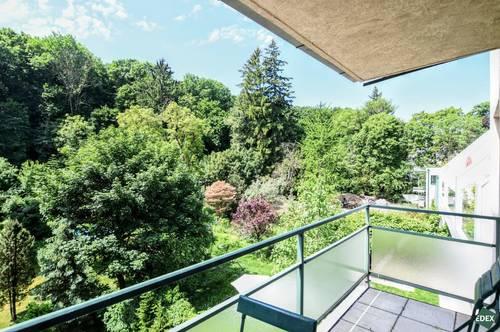 Sanierte 4-Zimmer-Wohnung mit zwei Balkonen in Neuwaldegg