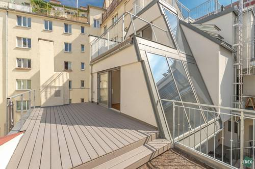 Klimatisierte Terrassen-Maisonette in Erstbezug