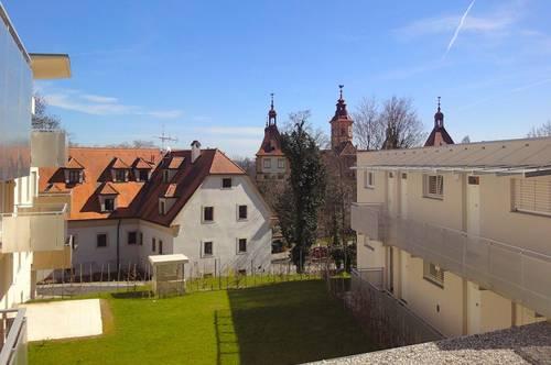 Eggenberg: Herrliche Terrassenwohnung in Bestlage mit Garagenplatz!