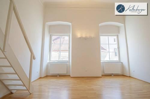 Galeriewohnung - Altbauflair
