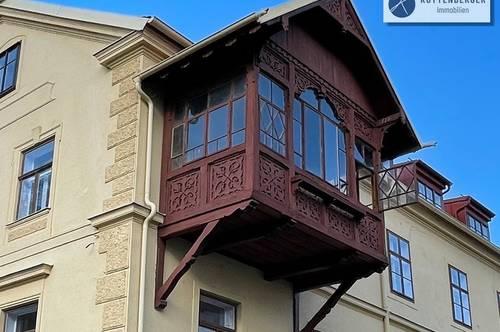 Hübsche Altbauwohnung mit romantischer Veranda