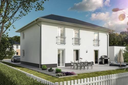 Wo Hausbauen noch leistbar ist! Zweifamilienhaus mit Grundstück Schlüsselfertig !!! 388.273,-- 4294 St. Leonhard bei Freistadt, Flair Duo 190 SF