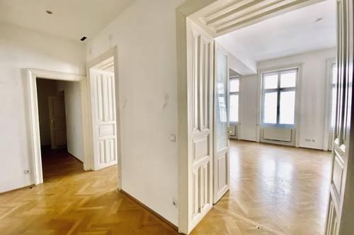 MARGARETENHOF   3-Zimmer-Altbauwohnung