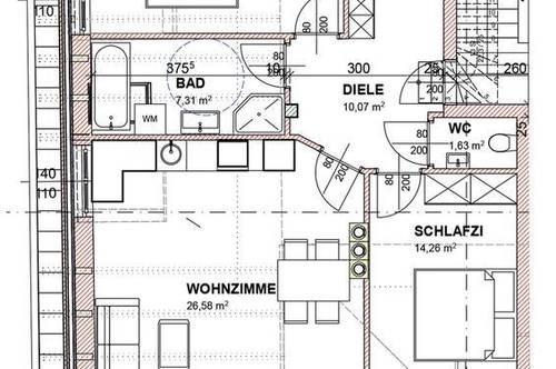 Top 10 3 Zimmerwohnung im Zentrum von Bad Ischl