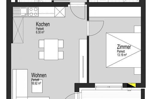 Neubauprojekt in Aurolzmünster, 2-Zimmer-Mietkaufwohnung Top 10