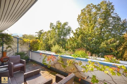 Helle Dachgeschoss-Maisonette in urbaner Ruhelage
