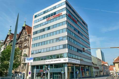 Großraumbüro in Graz City Tower