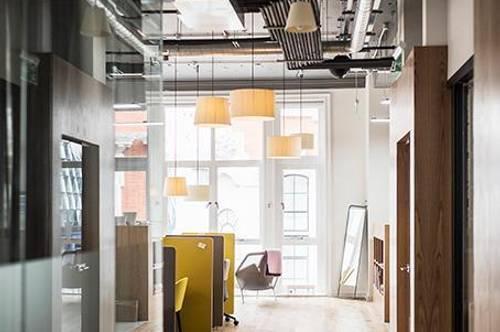 Büroräume für drei oder vier Personen