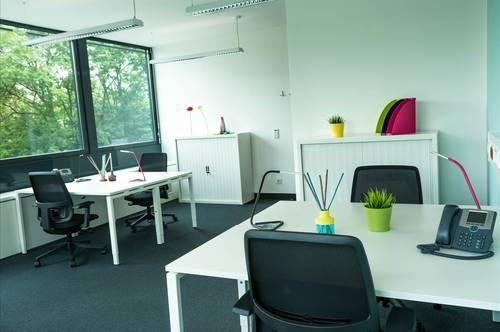 Privatbüro für vier Personen in Graz City Tower