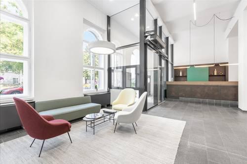 Flexible Arbeitsplätze mit eigenem Schreibtisch in Linz, Promenade