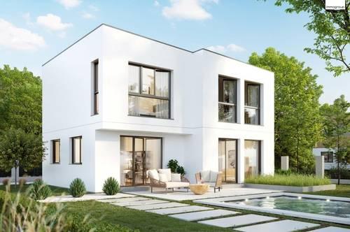 Designer Einfamilienhaus in Langenzersdorf - Mit 3D Besichtigung Demo - An der Stadtgrenze Wiens